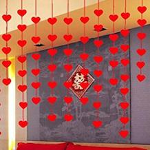 cadenas de corazones